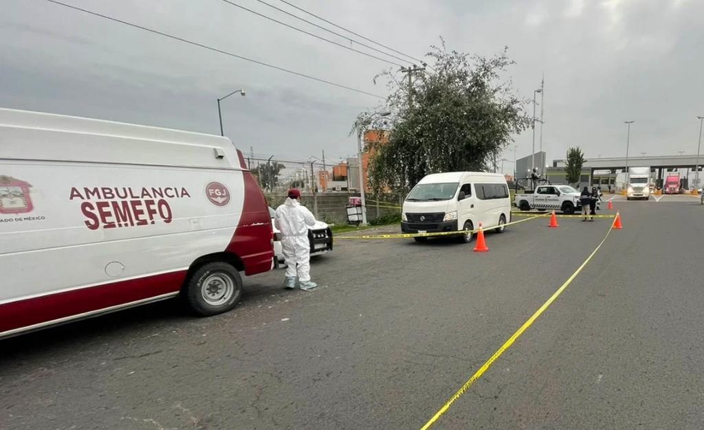 Asesinan a militar en asalto a camioneta del transporte público sobre la autopista México-Pachuca
