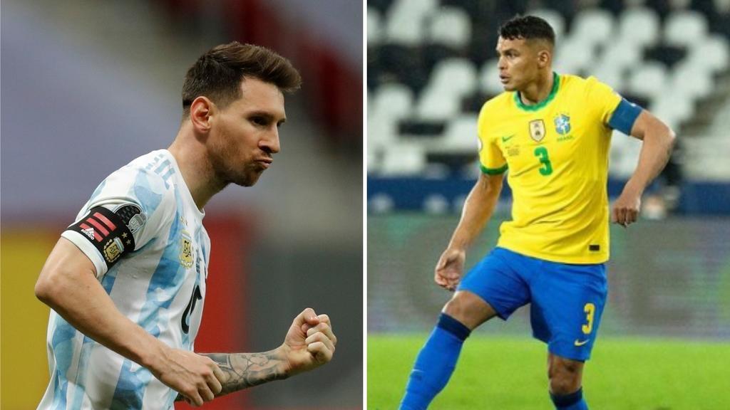 Thiago Silva dice que Brasil está preparado para anular las jugadas de Messi