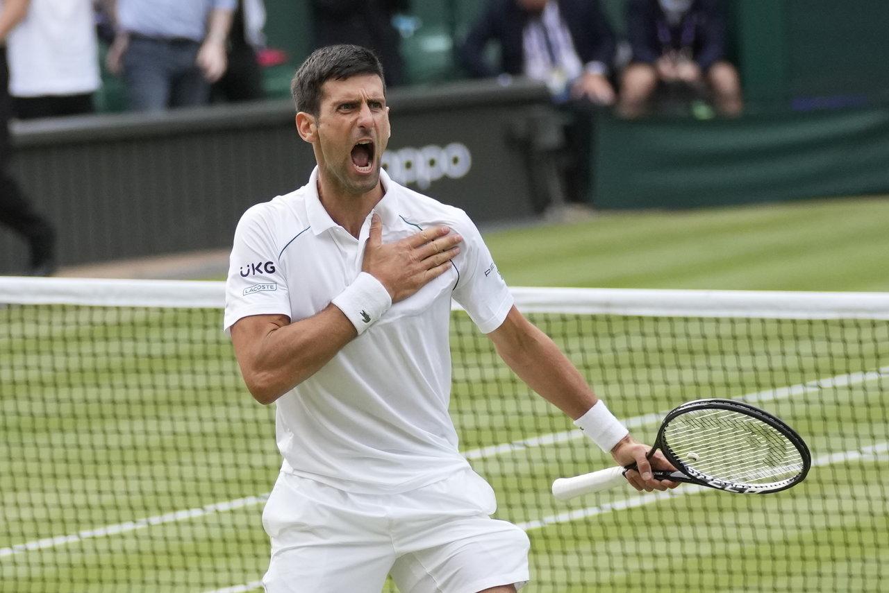 Novak Djokovic ya es finalista de Wimbledon