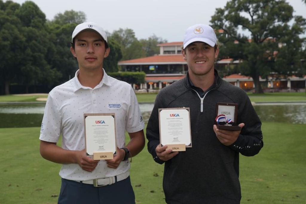 Luis Carrera y Cristóbal Islas, al US Amateur de la America Golf Association