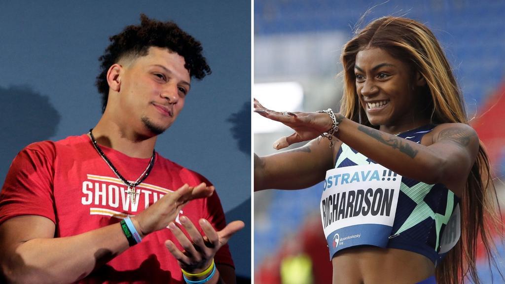 Patrick Mahomes califica de 'ridículo' no dejar ir a Olímpicos a Sha'Carri Richardson por consumo de marihuana