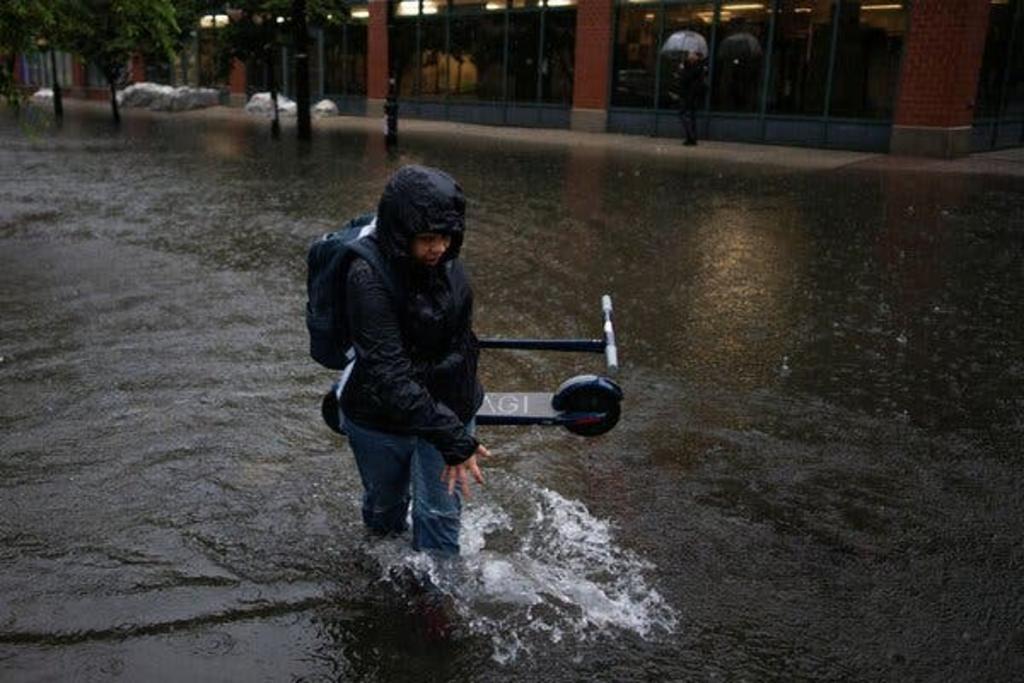 La tormenta tropical 'Elsa' continúa dejando fuertes precipitaciones en la región noreste de Estados Unidos