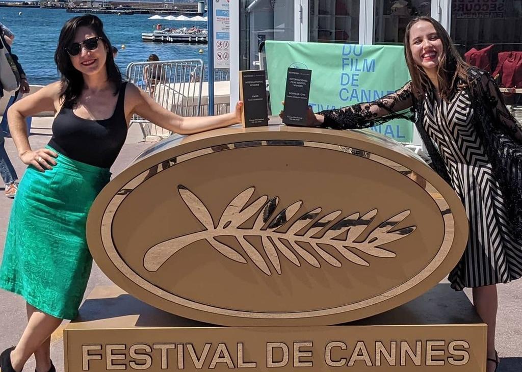 Dos mexicanas reciben premio en Cannes