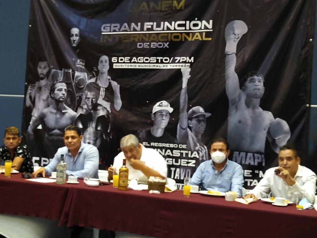 Función de boxeo internacional tendrá lugar en el Auditorio Municipal de Torreón