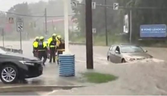 Tormenta Elsa deja a Nueva York con inundaciones