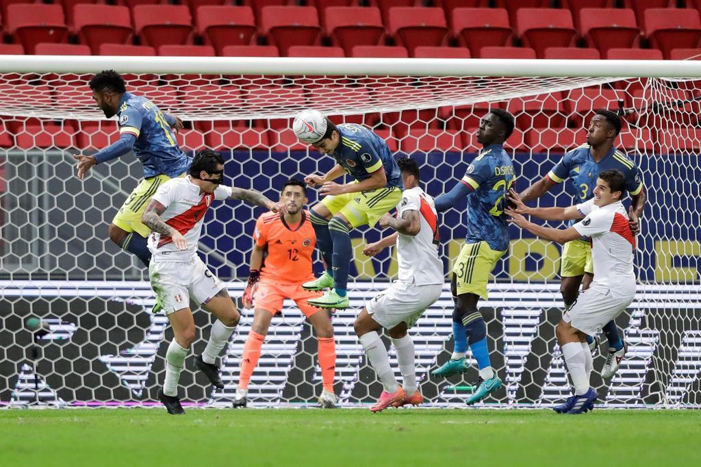 Colombia conquista el tercer puesto de la Copa América tras vencer a Perú