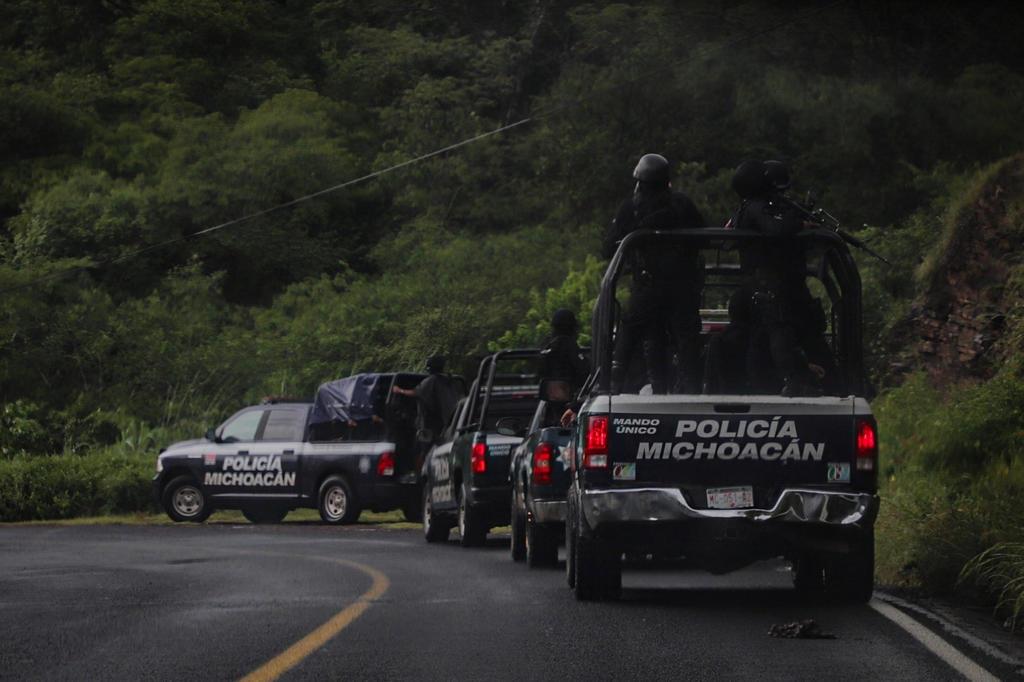 Michoacán lanza ofensiva contra grupos criminales en Aguililla