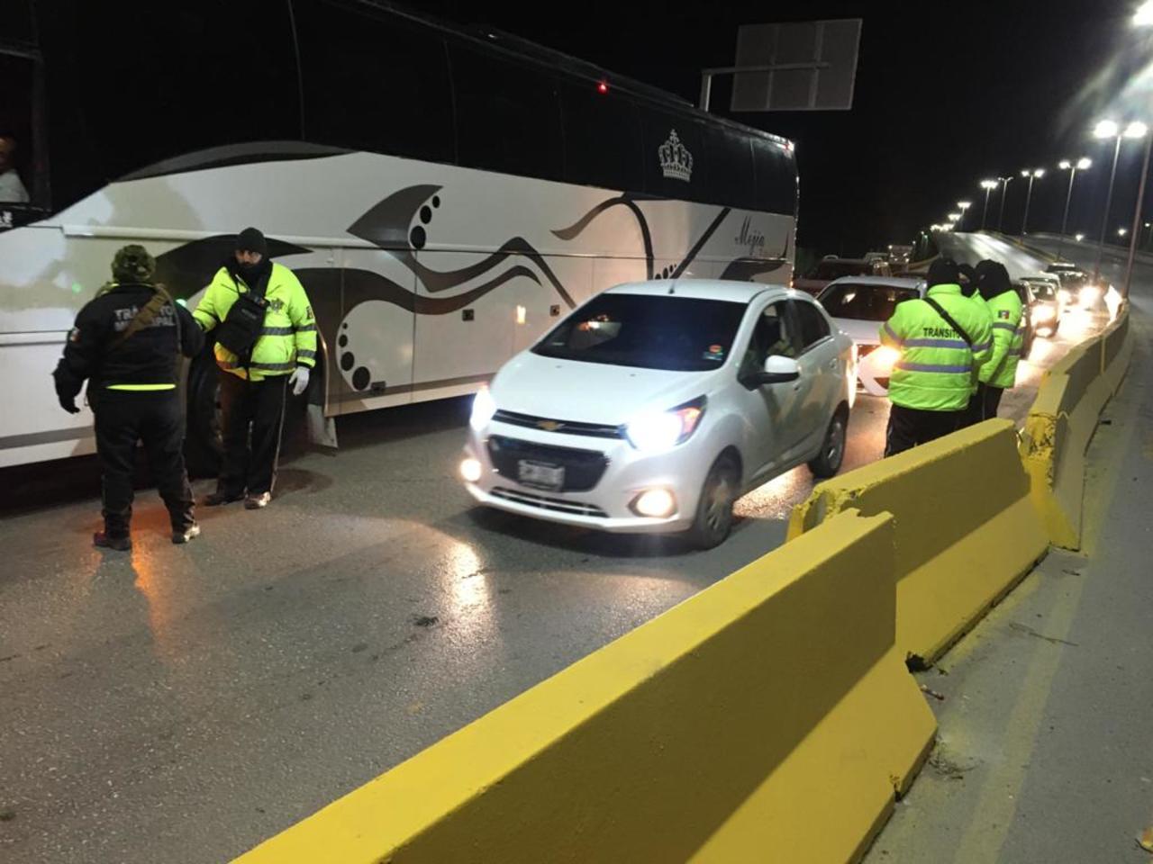 Reportan alza en conductores ebrios