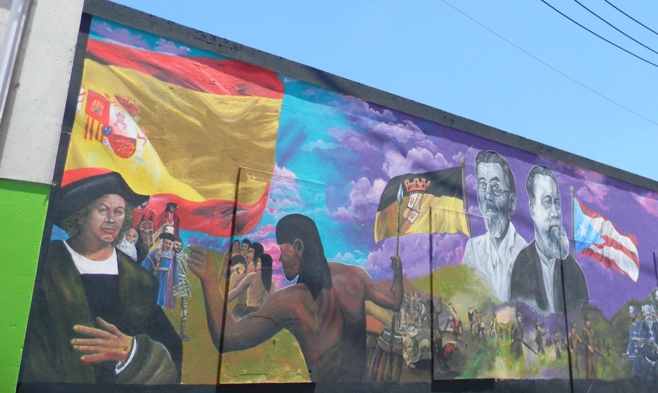 Muralistas de 6 países llevan sus obras a Puerto Rico