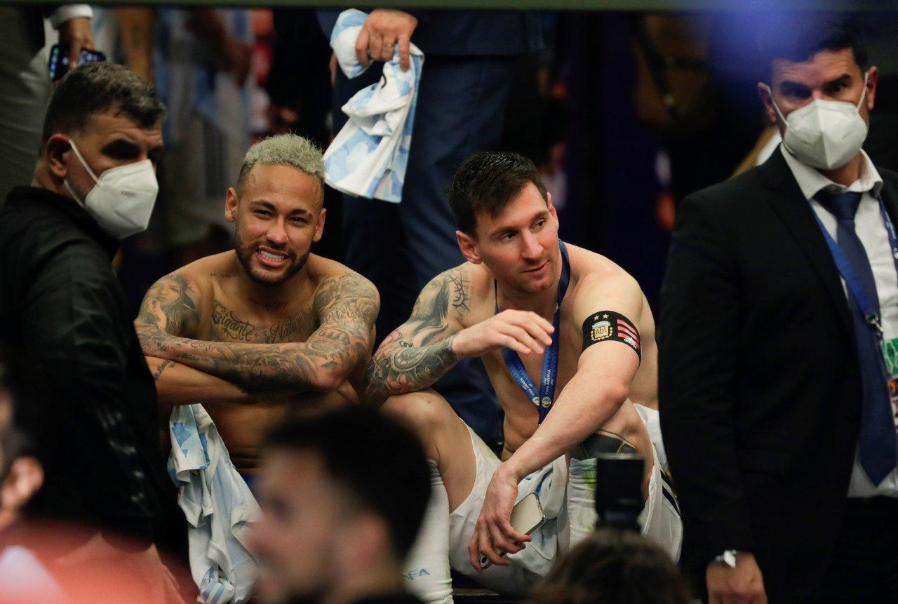 Revela Neymar conversación con Messi tras perder la Copa América