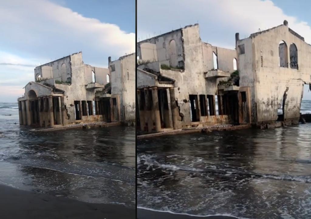 Mansión abandonada en El Salvador se hace viral