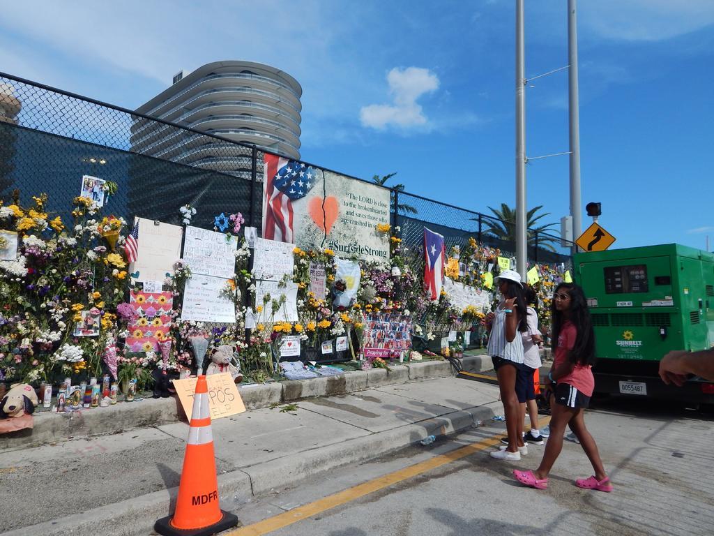 Sube a 94 la cifra de fallecidos en derrumbe de edificio en Miami-Dade