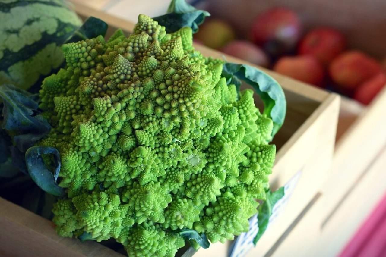 ¿De dónde viene la peculiar estructura geométrica del brócoli?