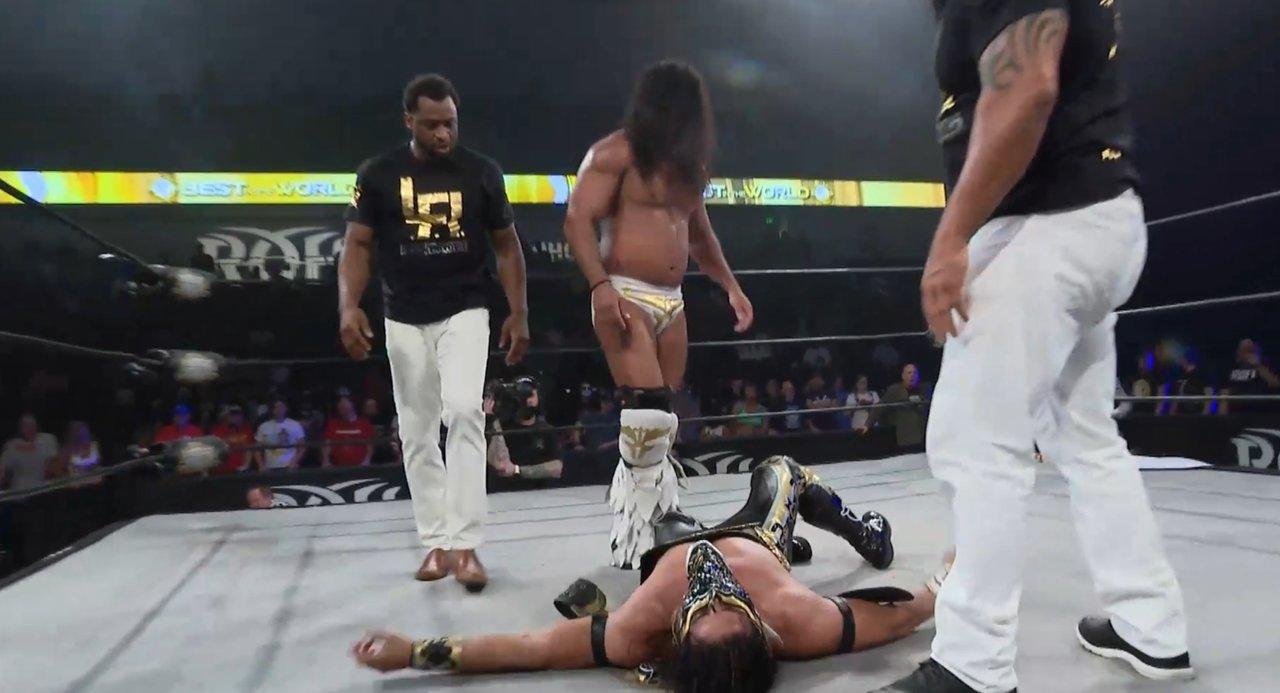 Bandido le arrebata a Toro Blanco Rush el campeonato mundial de ROH