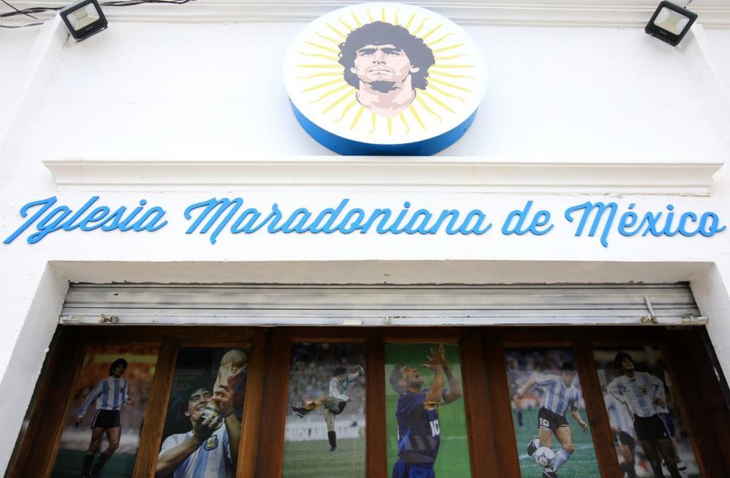 México abre las puertas de su primera Iglesia Maradoniana
