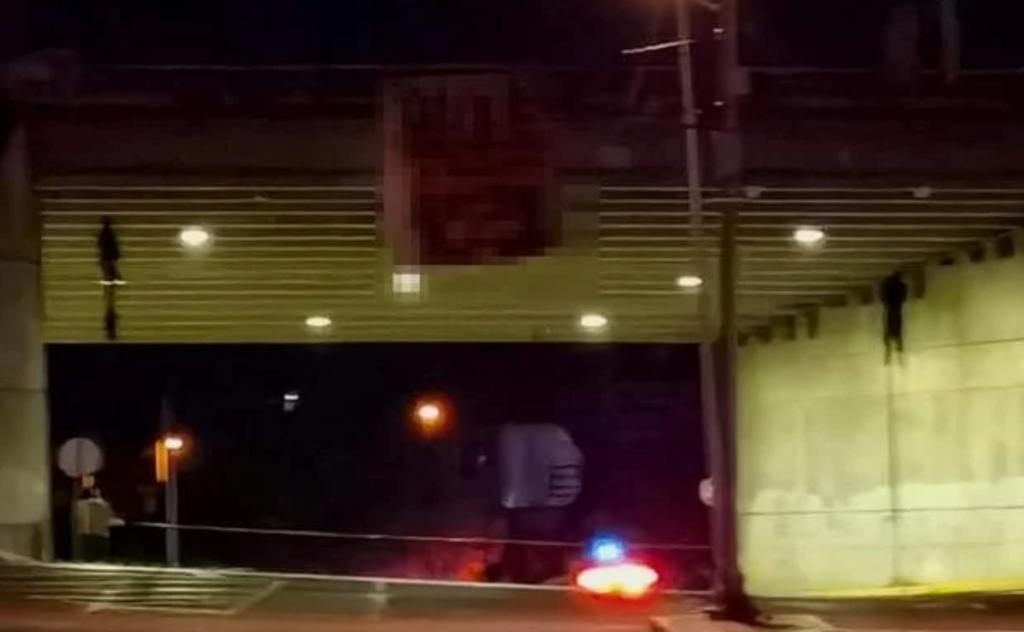 Fiscalía inicia investigaciones tras hallazgo de hombre colgado en el puente de Soledad en San Luis Potosí