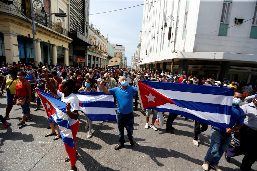 Estados Unidos niega estar detrás de protestas en Cuba