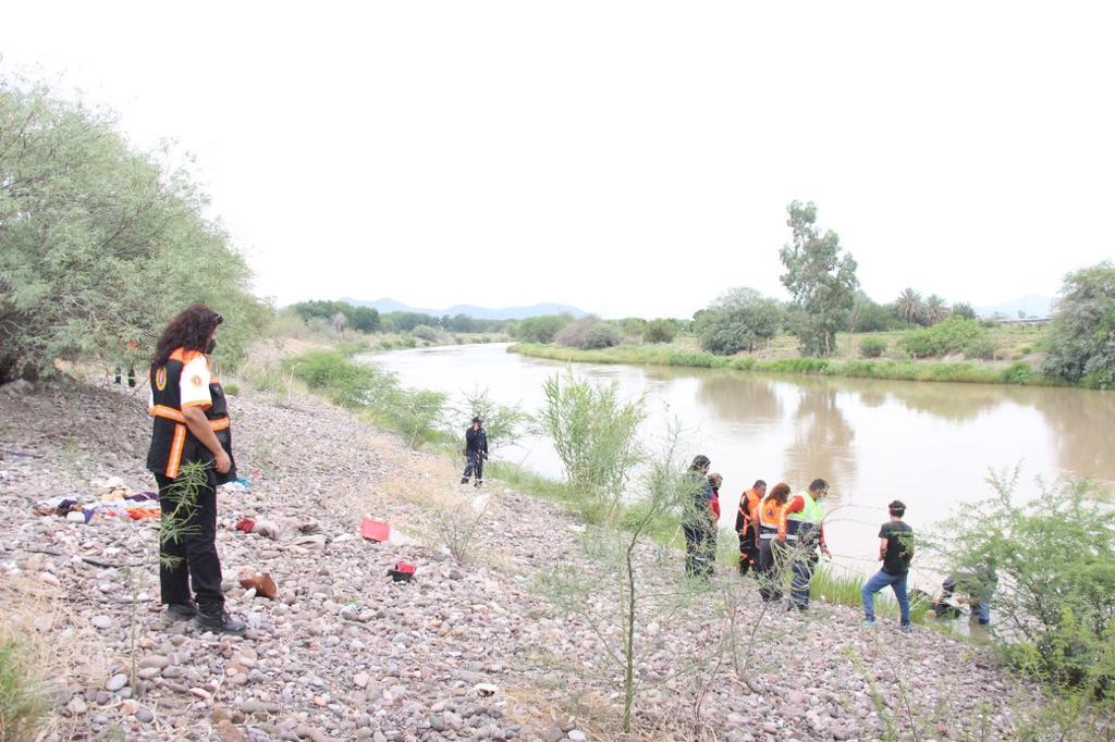 Cadáver de joven que murió ahogado es localizado en el río Nazas