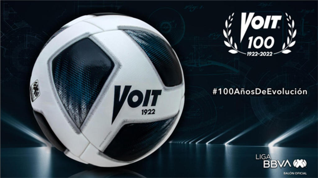 Liga MX se pone a la vanguardia mundial con el nuevo Balón Voit 100 años