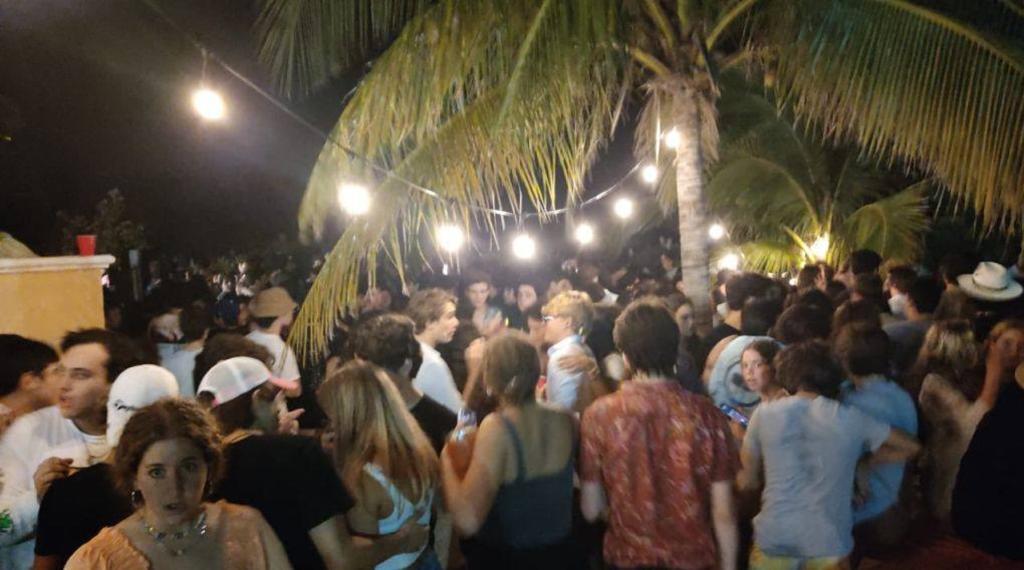 Clausuran fiesta en Yucatán que se realizaba con más de 300 personas y sin medidas sanitarias