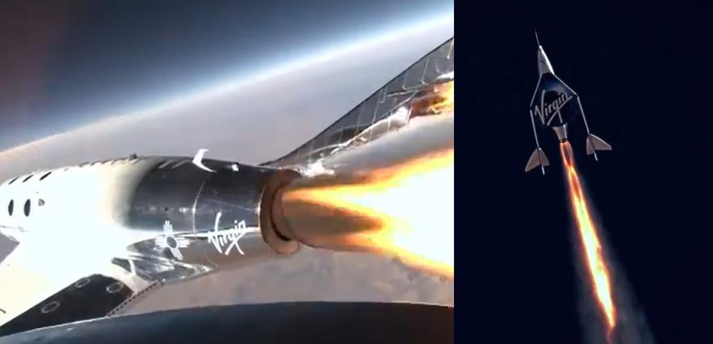 Así fue el sueño de Richard Branson, el viaje al espacio de Virgin Galactic