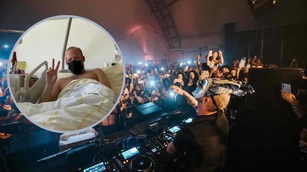 DJ alemán Boris Brejcha es hospitalizado tras gira en México