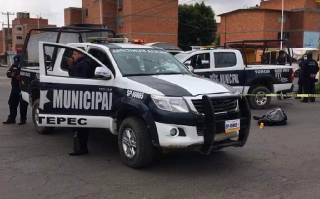 Agente de la CDMX abate a supuesto asaltante de combi en Tultepec