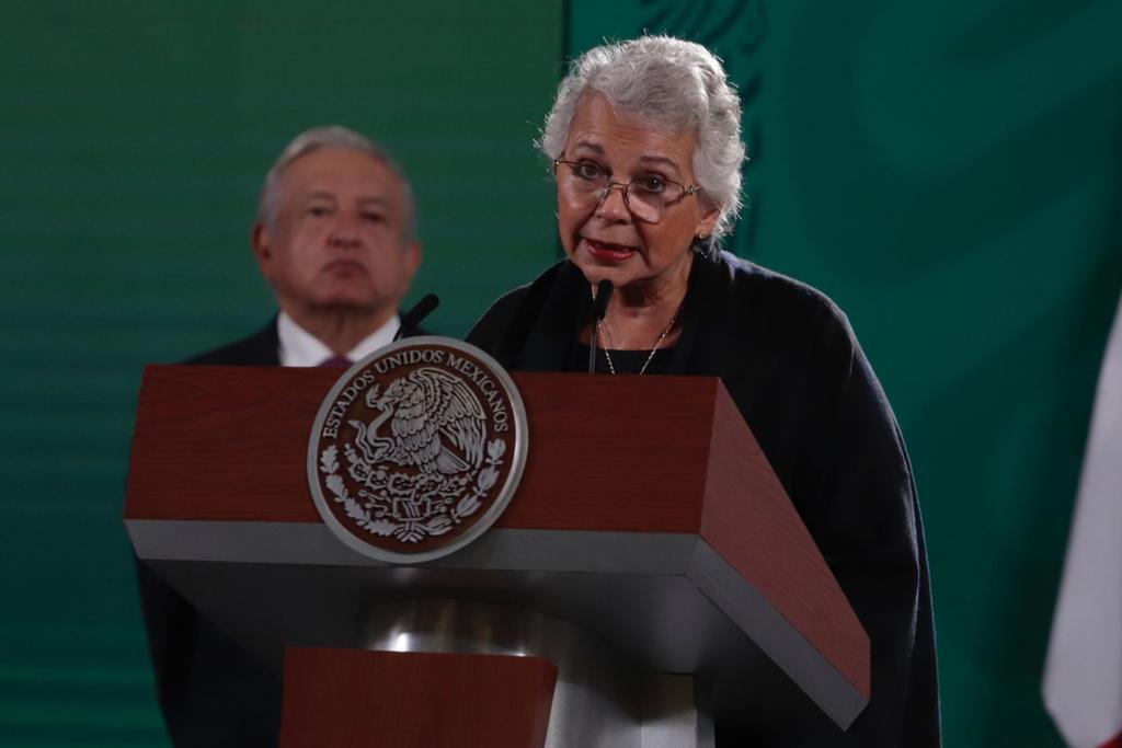Olga Sánchez Cordero se descarta como aspirante presidencial en 2024