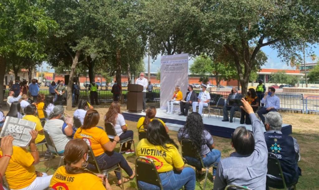 La Semar ofrece disculpa pública a los familiares de víctimas de desaparición forzada en Nuevo Laredo
