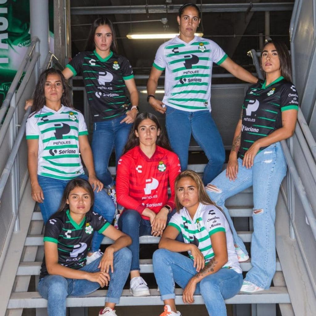 Santos Laguna Femenil presenta su nueva 'armadura' Guerrera