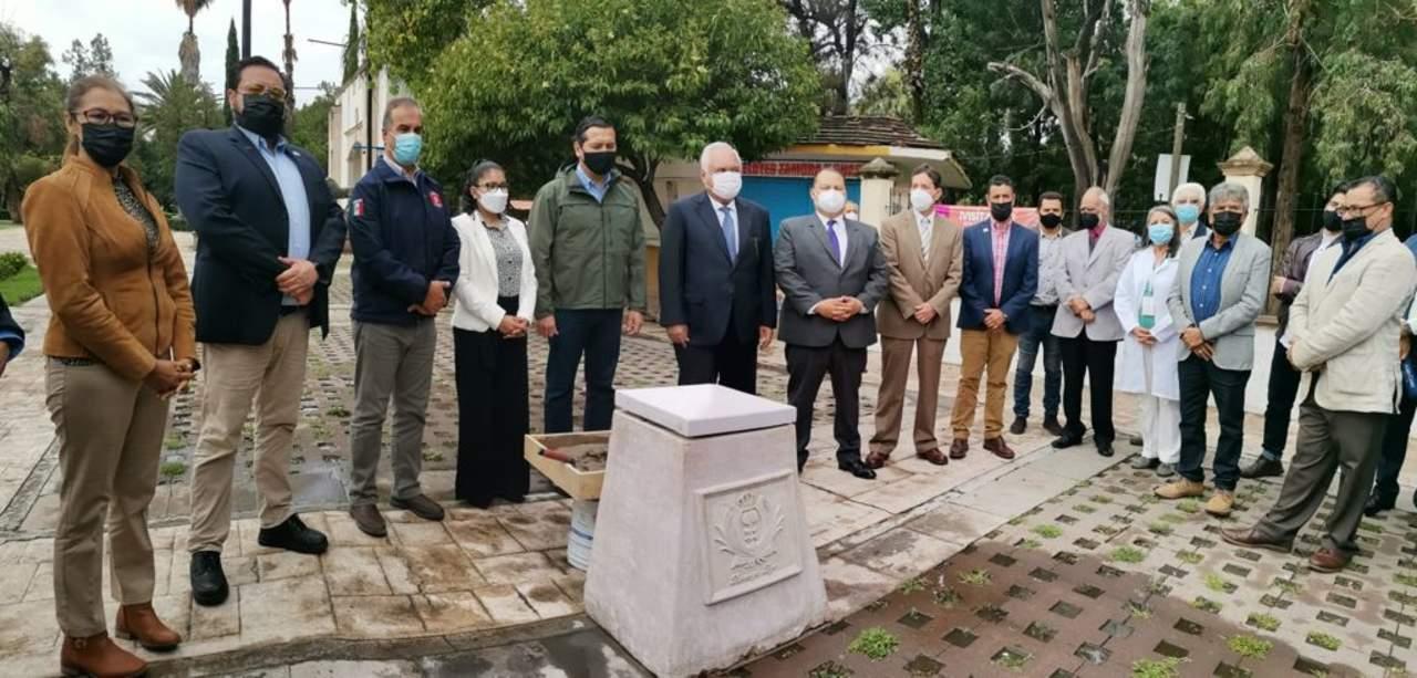 Construirán monumento al sector salud en Durango