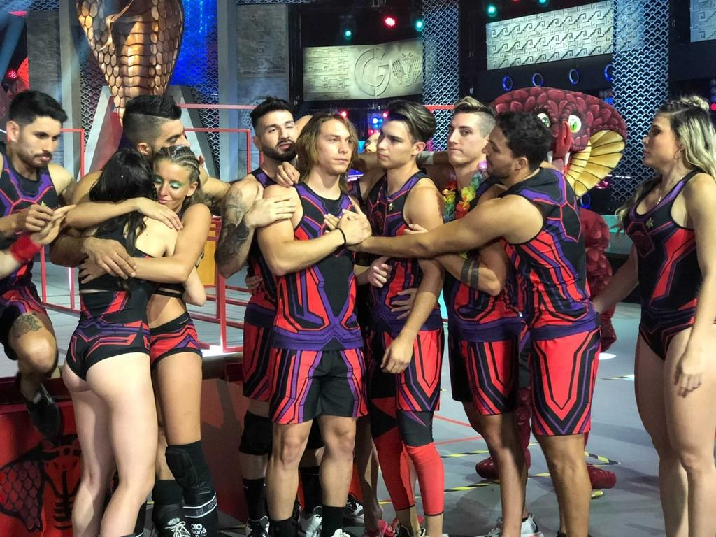 Aldo De Nigris y otros competidores de Guerreros que fueron eliminados