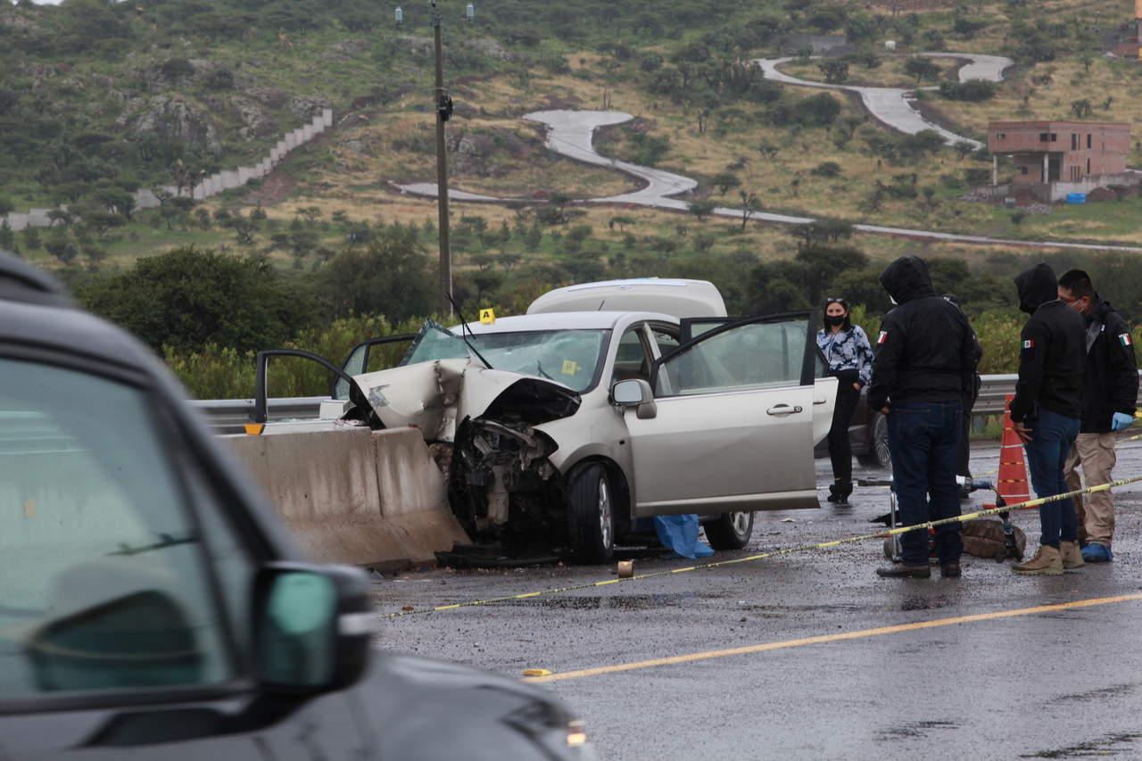 Identifican a los fallecidos en el choque de la carretera a Parral