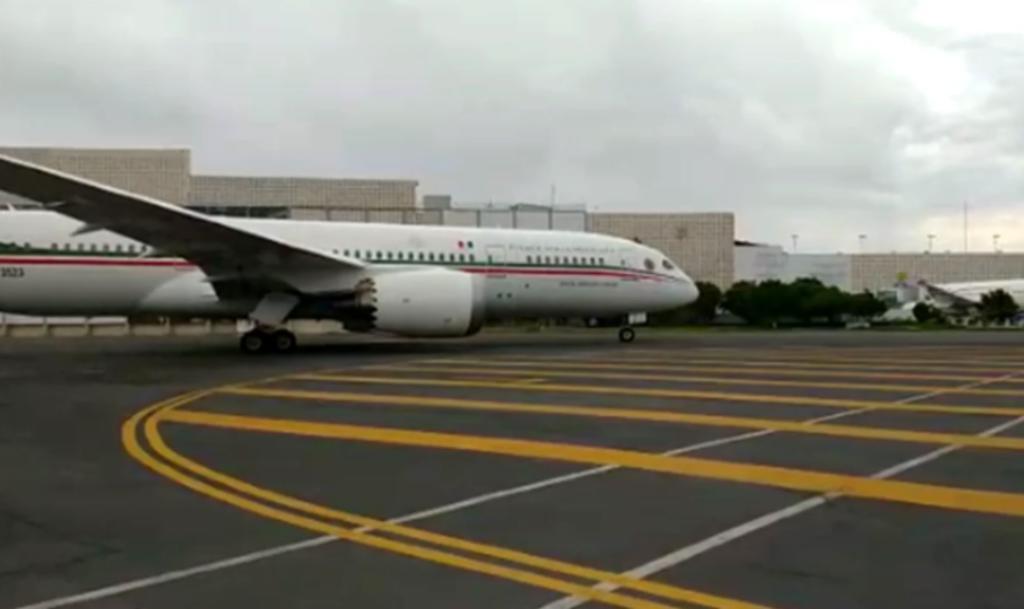 Avión presidencial viaja a Japón con instrumentos deportivos para Juegos Olímpicos