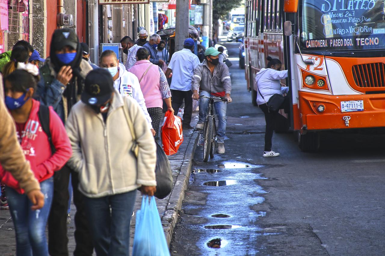 Pandemia retrasó modernización del transporte en Durango