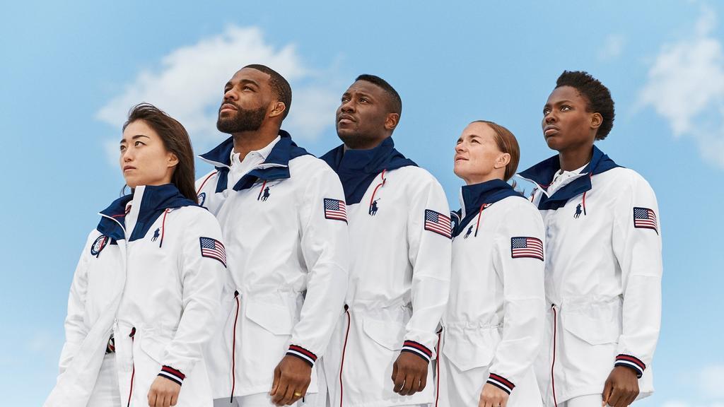 Ralph Lauren diseña uniforme de EUA para los Juegos Olímpicos de Tokio