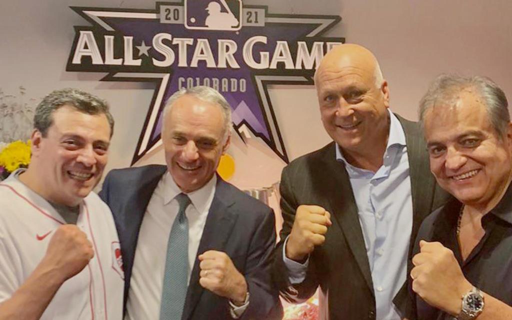 Presidente del WBC se reúne con el Comisionado de béisbol de las Ligas Mayores