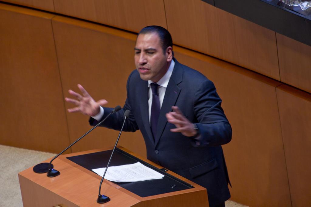 Presidente de la Permanente muestra preocupación por desafuero del fiscal de Morelos