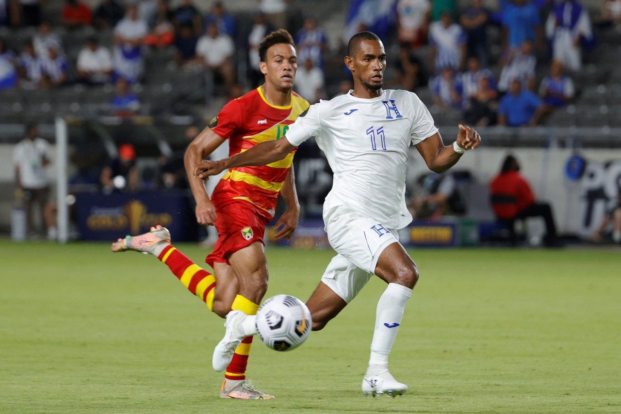 Honduras es líder del grupo D de la Copa Oro tras golear a Granada