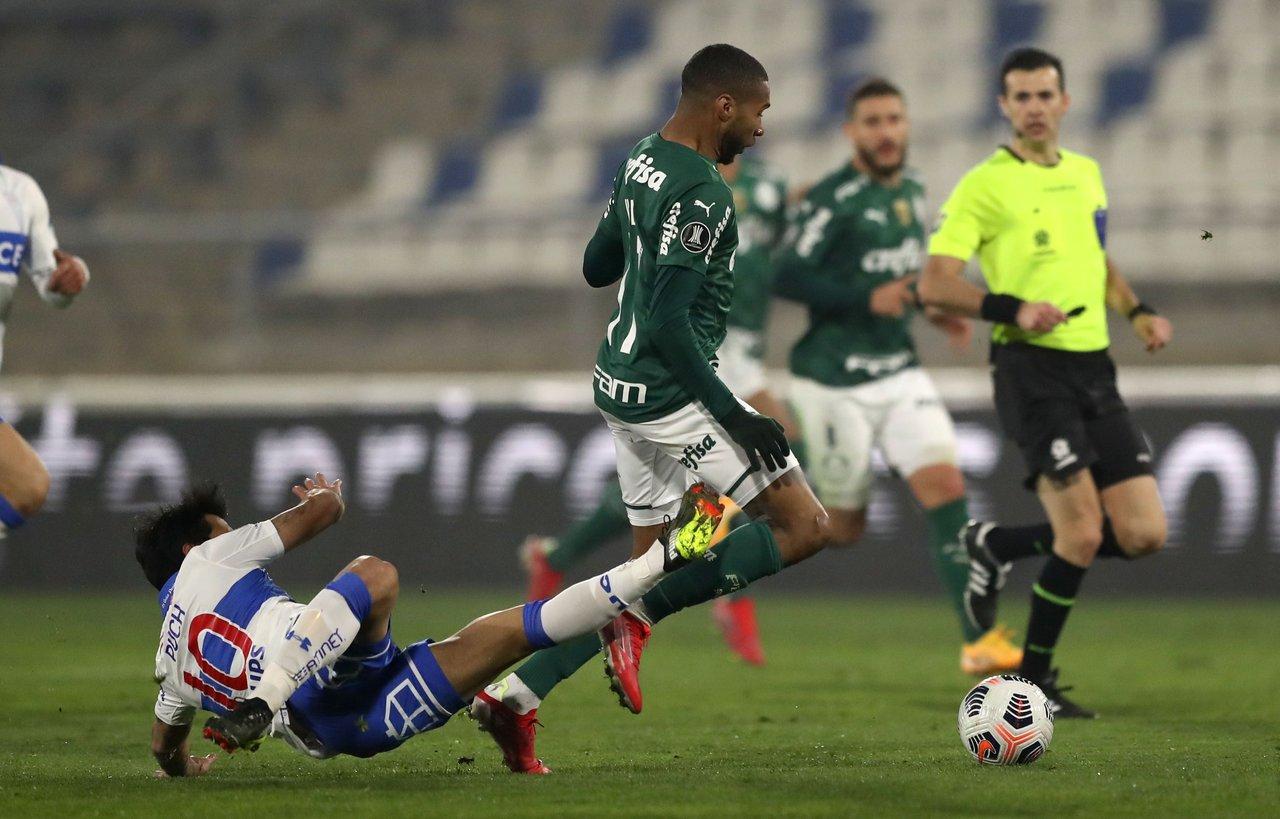 Palmeiras se impone por la mínima ante U.Católica en  octavos de final de la Copa Libertadores