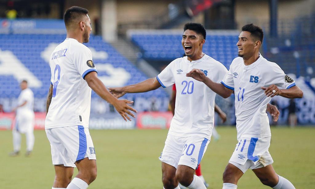 El Salvador vence a Trinidad y Tobago en la Copa Oro