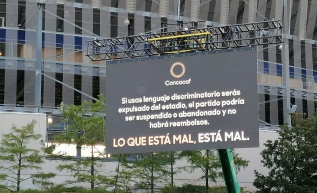 Expulsarán a aficionados que hagan el grito homofóbico en la Copa Oro