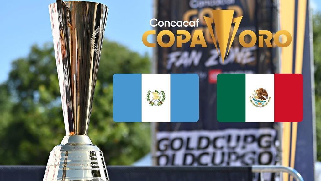 Guatemala vs México: partido de la Copa Oro 2021
