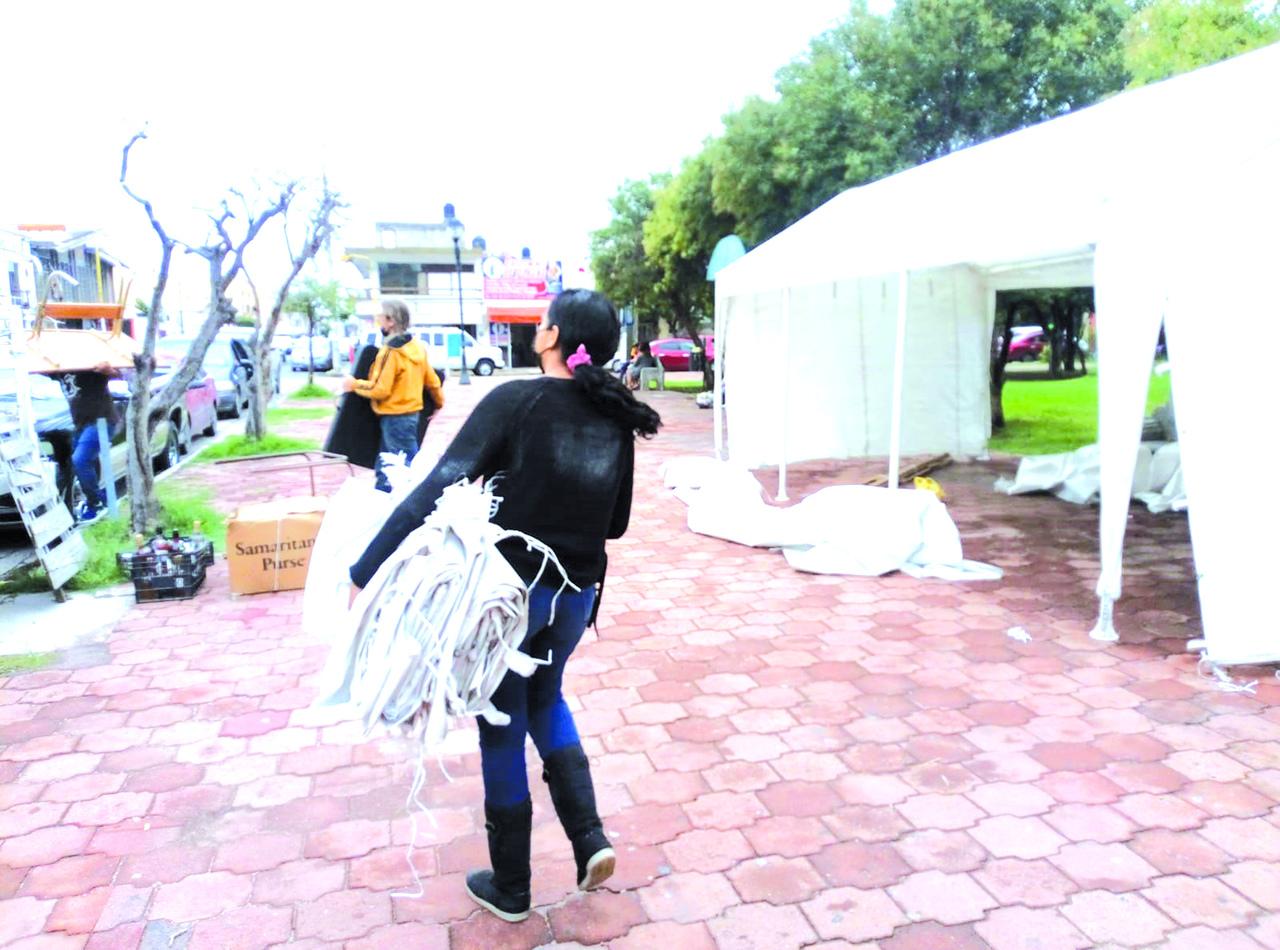 Liberan de comerciantes al Jardín Hidalgo