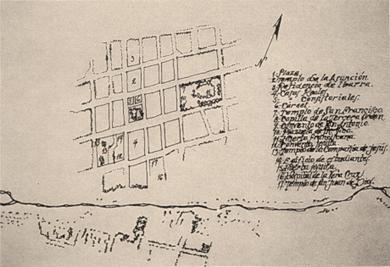 La villa de Durango en 1604