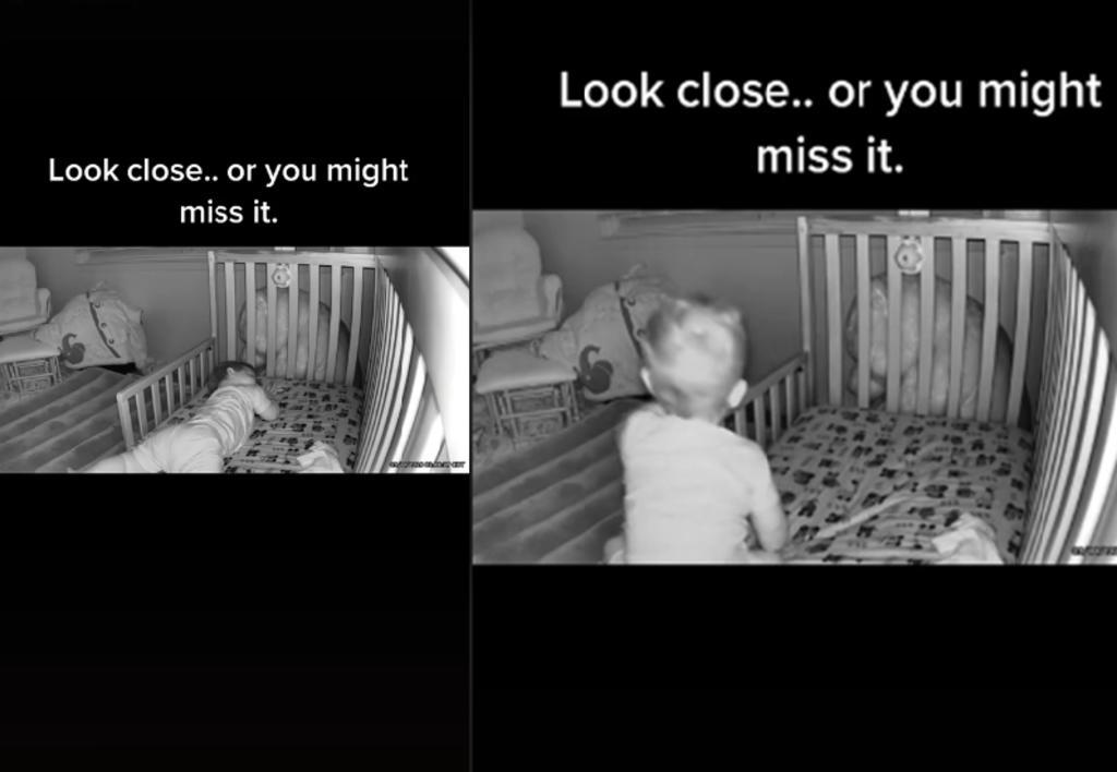 Madre asegura que una cámara captó actividad paranormal en la habitación de su bebé
