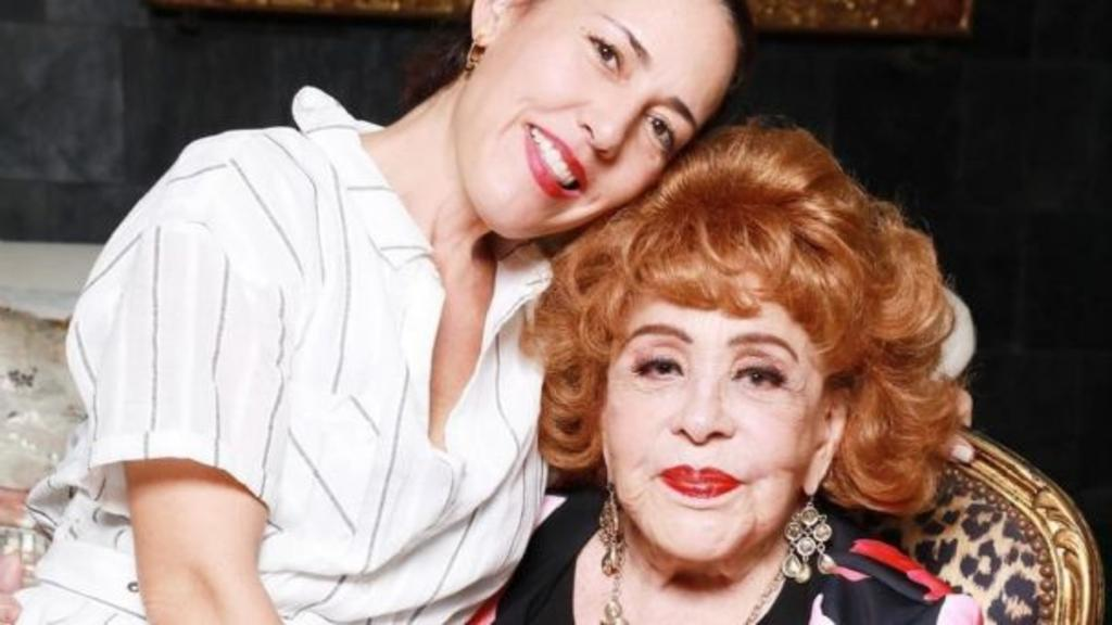 'La vi perfecto'; asegura Stephanie Salas sobre la salud de Silvia Pinal