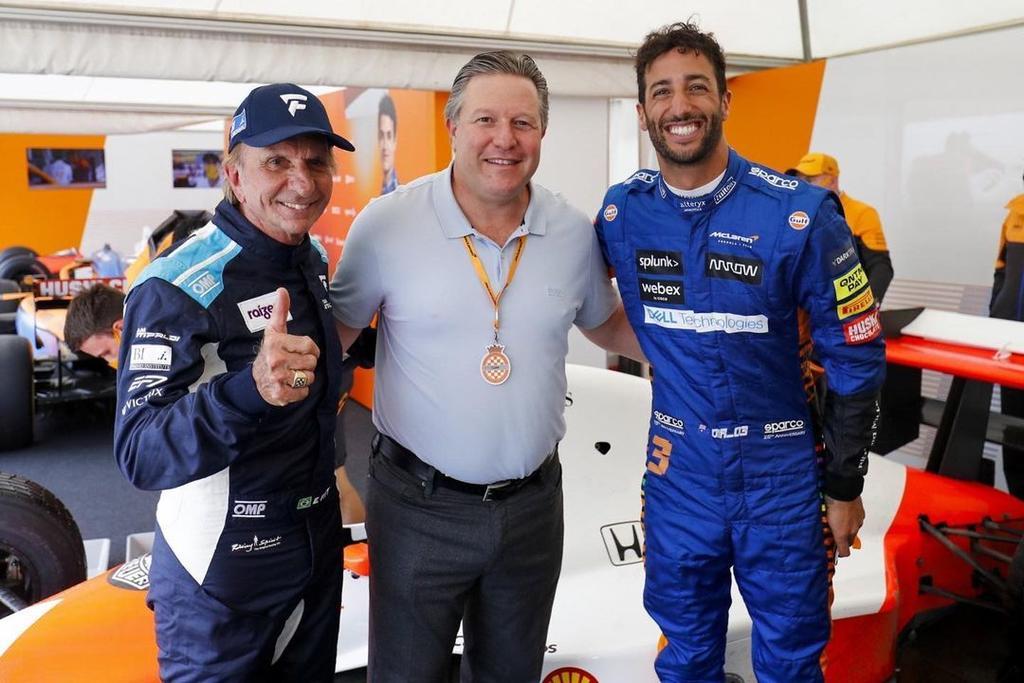 Jefe de McLaren, Zak Brown, da positivo a COVID