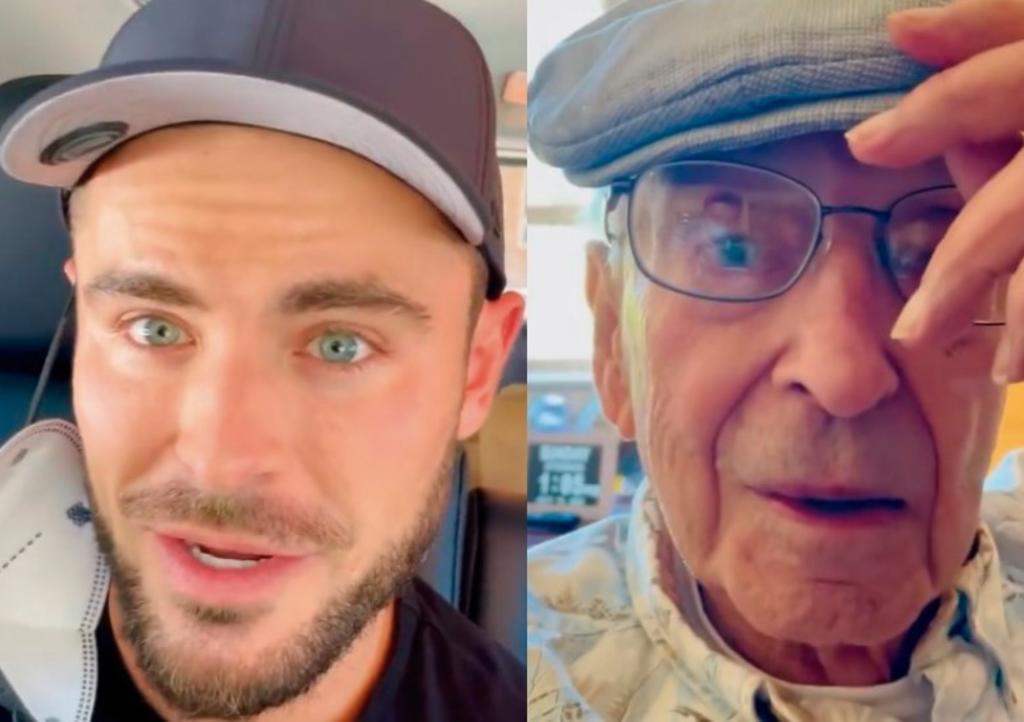 Zac Efron 'secuestra' a su abuelo para ver la Eurocopa y enamora al Internet