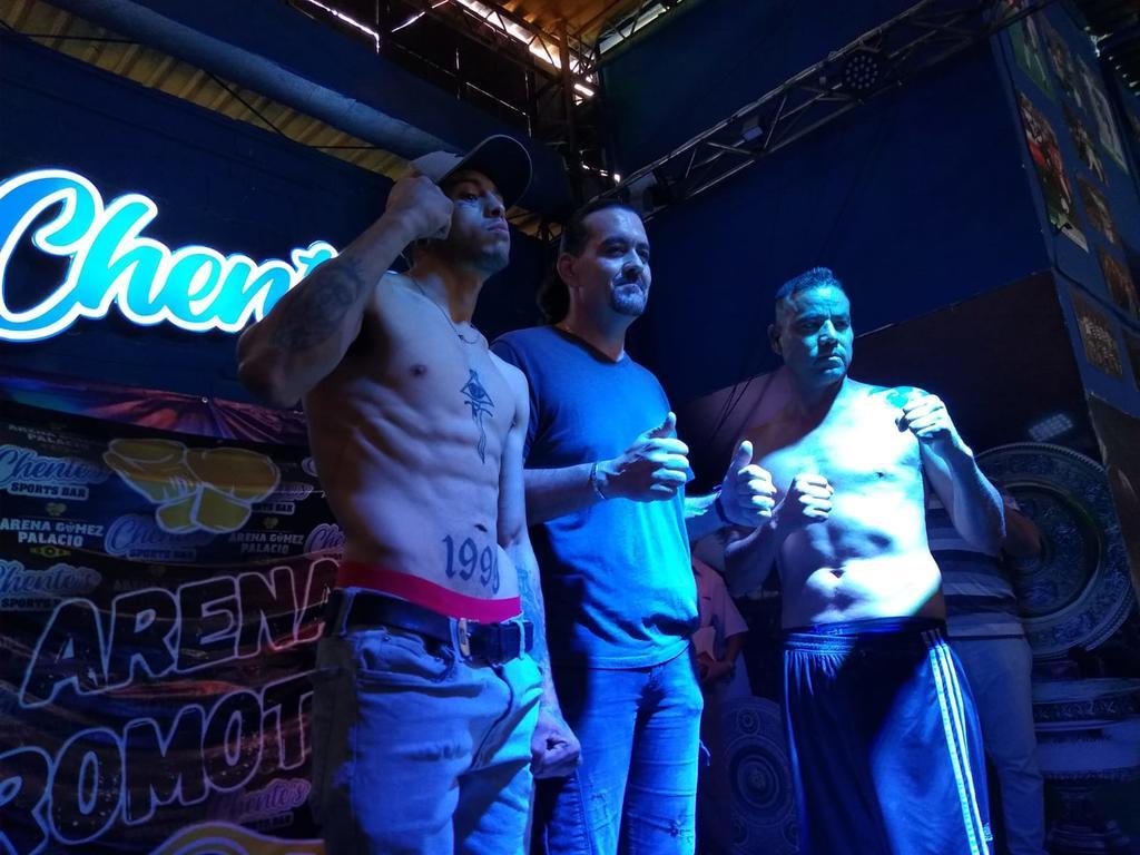 Boxeadores 'De Poder a Poder' aprueban pesaje